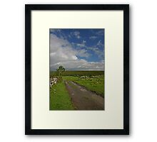 Irish Country Lane Framed Print
