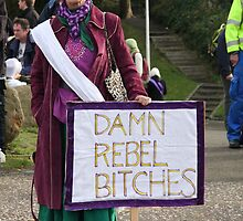 Damn Rebel Bitches by elisabeth tainsh