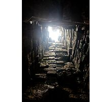 Light from Above - Angkor, Cambodia. Photographic Print