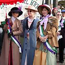 Suffragettes by elisabeth tainsh