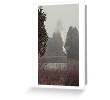 """ Cana Island Light "" Greeting Card"
