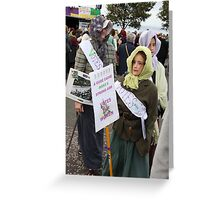 Votes for Women ! Greeting Card