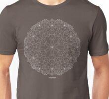 Lotus Petals [white design] Unisex T-Shirt