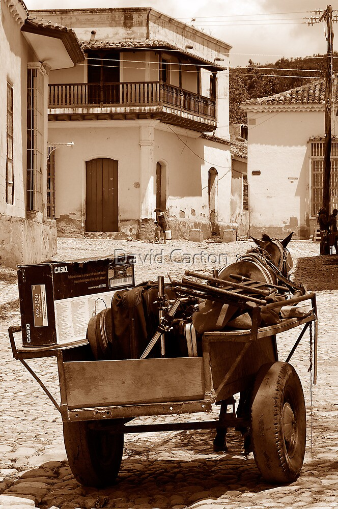 Removals Trinidad style, Cuba by buttonpresser