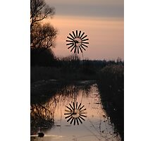 A Reflective Sunrise Photographic Print