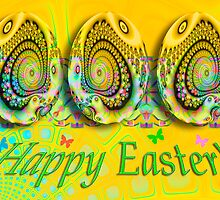 Happy Easter Card by walstraasart