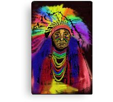 Big Chief Canvas Print