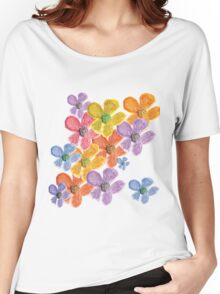 Blooms 3 Women's Relaxed Fit T-Shirt