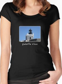 puerto rico 2 Women's Fitted Scoop T-Shirt