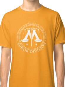 AUROR DIVISION Seal - white - (Harry Potter) Classic T-Shirt