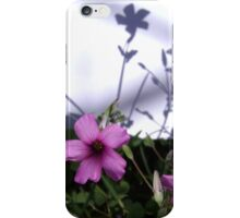 Flowers and Shadows iPhone Case/Skin