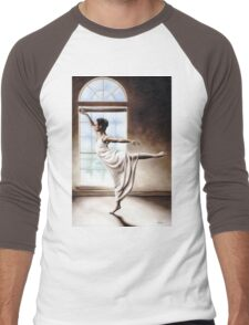 Light Elegance Men's Baseball ¾ T-Shirt