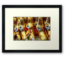 Easter Bunny - Collaboration^ Framed Print