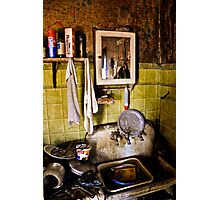 Clean Shaven Photographic Print