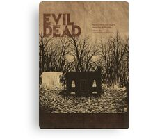 EVIL DEAD- ALTERNATIVE POSTER Canvas Print