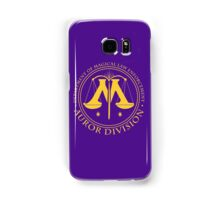 AUROR DIVISION Seal - gold - (Harry Potter) Samsung Galaxy Case/Skin