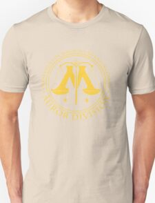 AUROR DIVISION Seal - gold - (Harry Potter) Unisex T-Shirt