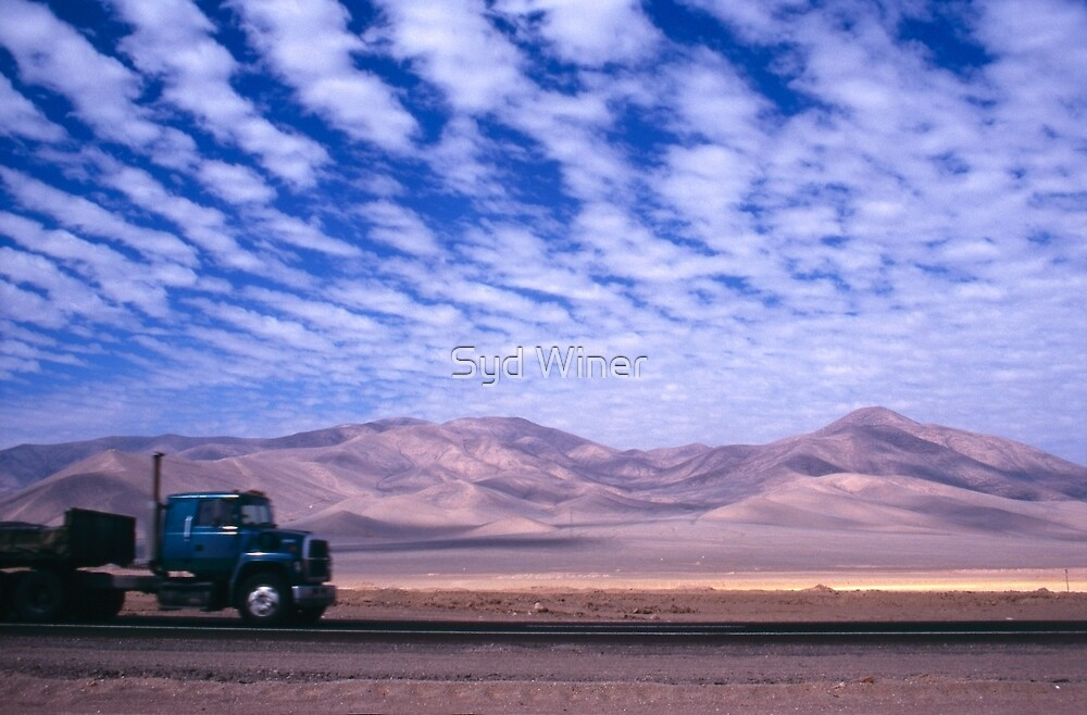 Truck! Atacama Desert, Chile by Syd Winer