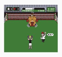 Female Punch-Out! Kids Tee