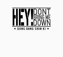 TVXQ - HEY! Don't Bring Me Down (Black) Unisex T-Shirt