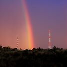 The Rainbow On The Hill... by Qnita