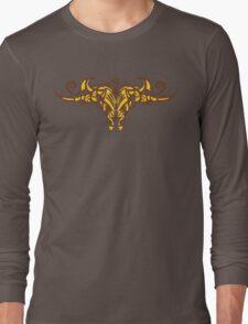 Tribal Bull Long Sleeve T-Shirt