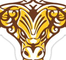 Tribal Bull Sticker
