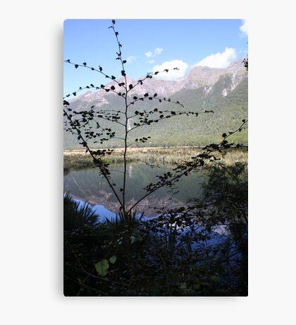 Magical Mirror Lakes Canvas Print