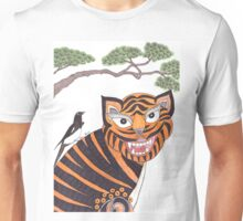 The Tiger and the Magpie Unisex T-Shirt