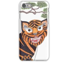 The Tiger and the Magpie iPhone Case/Skin