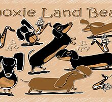 Doxie Land Beat by Diana-Lee Saville