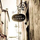 Cafe Uvonzu, Prague by lucyturnbull