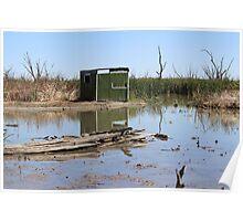 Gwydir Wetlands SCA Bird Hide Poster