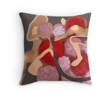 no bed of roses Throw Pillow