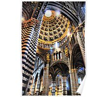Siena Cathedral. Interior Poster