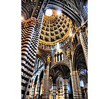 Siena Cathedral. Interior Photographic Print