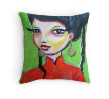 Ni hao ma Throw Pillow