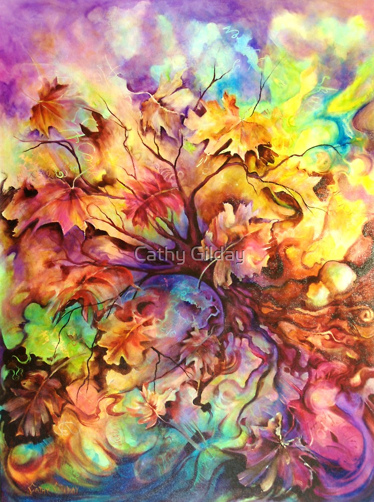 Autumn Vision (View Large)  by Cathy Gilday