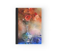 Poppies and Glass Marbles Hardcover Journal