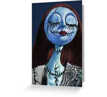 The Nightmare before Christmas - Sally Greeting Card
