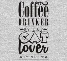 Coffee drinker by day, cat lover by night. Baby Tee