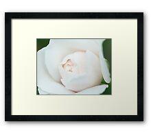 Ball of White Framed Print