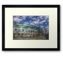 Greenville City Hall Framed Print