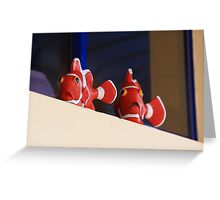 rubber fish Greeting Card