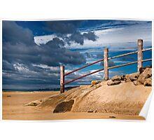 Ocean Steps,Anglesea,Great Ocean Road. Poster