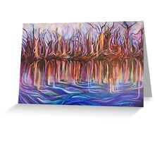 Lavender Reflections Greeting Card