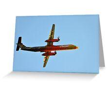 Horizon Air 25th anniversary paint scheme Greeting Card