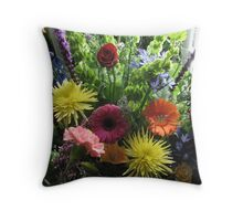 Floral Arrangment With Love  Throw Pillow