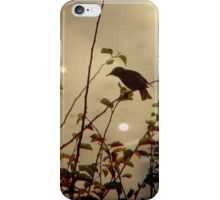 Bird in the Bush iPhone Case/Skin