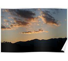 Sunrise, Santa Fe Poster